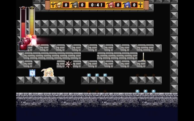 Rosenkreuzstilette - Zeppelin Castle Stage 4 Bomberman Puzzle Solution