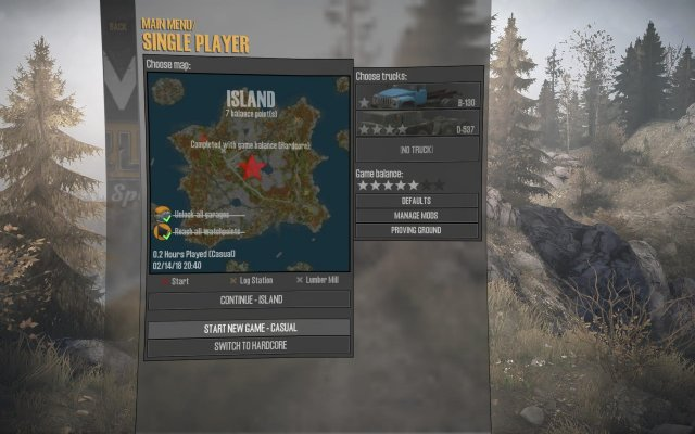 Spintires: MudRunner - Old Still Good Achievement
