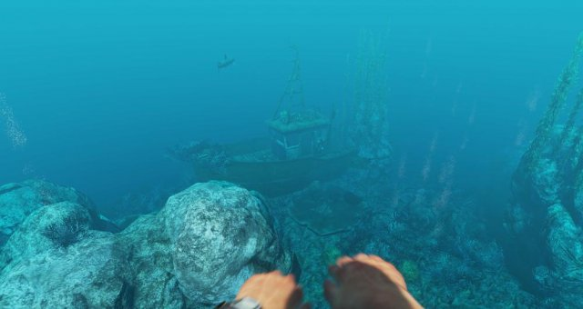 Stranded Deep - How to Safely Kill and Harvest a Lionfish