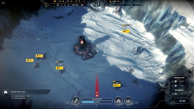 Frostpunk - The Optimal Start