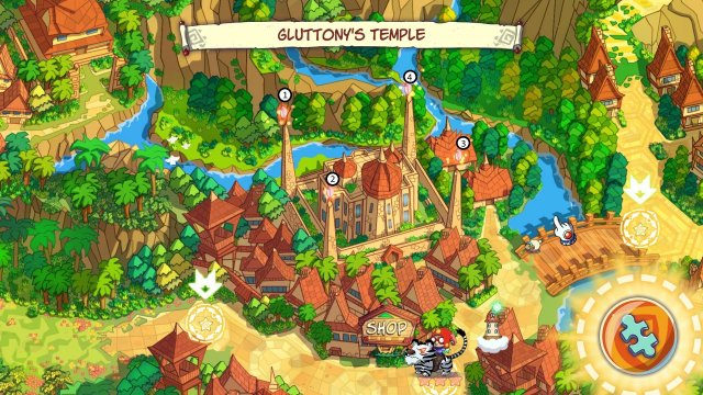 Supermagical - Gluttonny Temple Secret