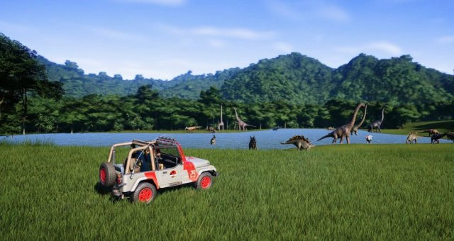 Jurassic World Evolution - Basic Guide for a High Rating Island
