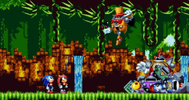 Sonic Mania - How to Use Any Character in Encore Angel Island