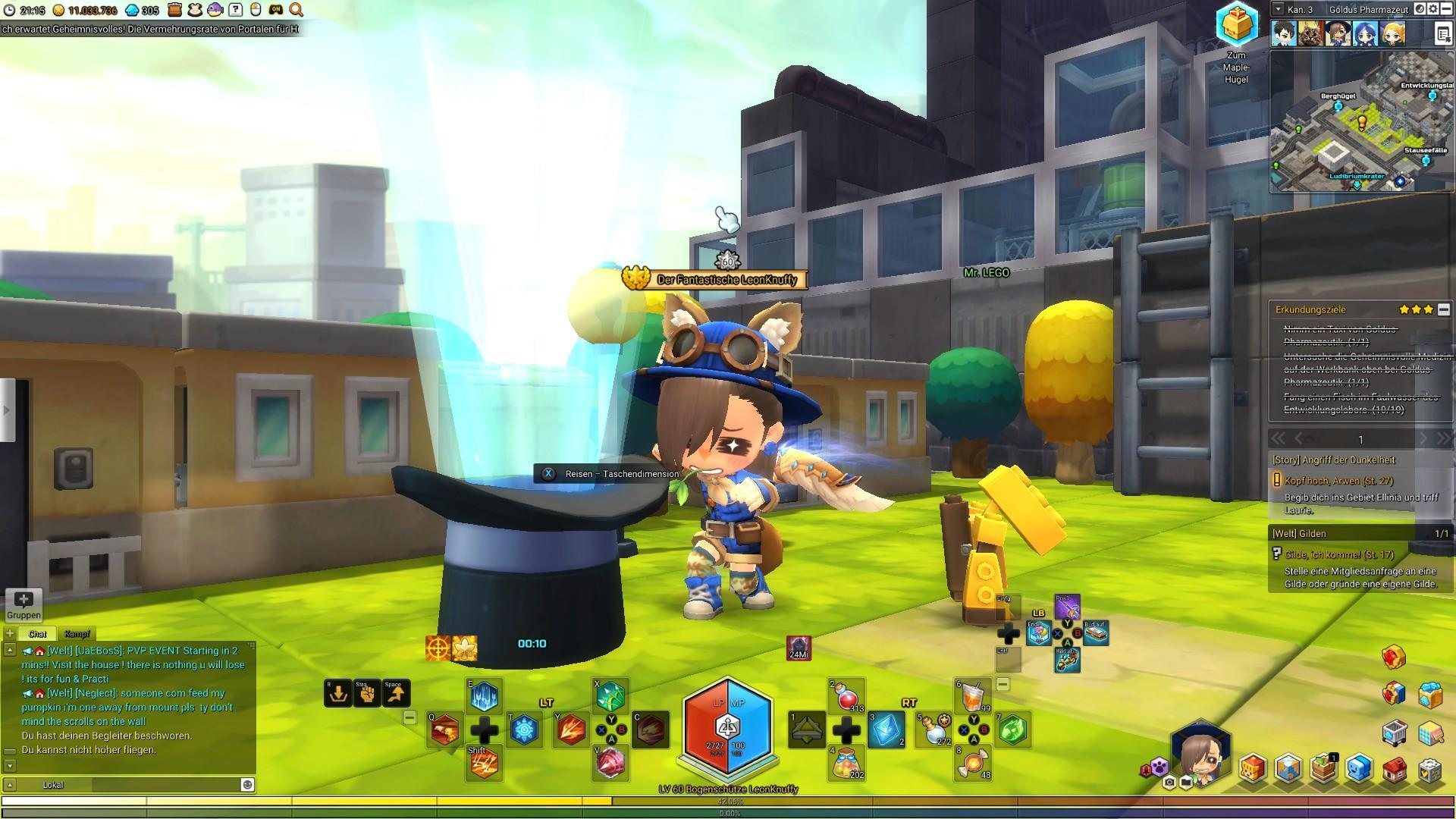 MapleStory 2 - Beginner's Guide (Mining, Farming, Fishing