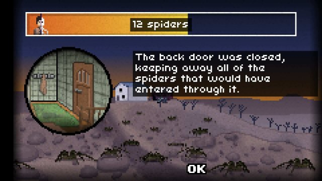 Don't Escape: 4 Days in a Wasteland - Day 1: Perfect Spiders (Arachnophobia)