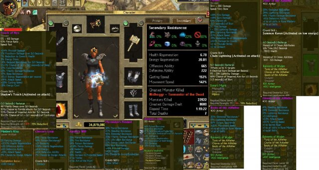 Titan Quest - Rune Dual Wield Throwing Build (Ragnarok Only)