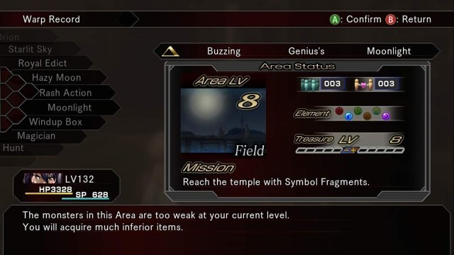Hack G.U. Last Recode - Area Word That Have Them All (For Farming Quests)