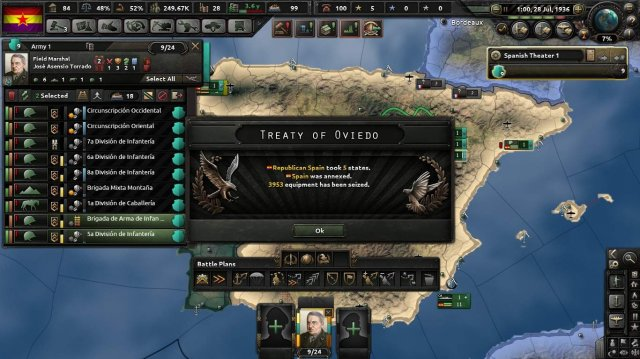 Hearts of Iron IV - How to Get the Bell Tolls for Us Achievement Easy