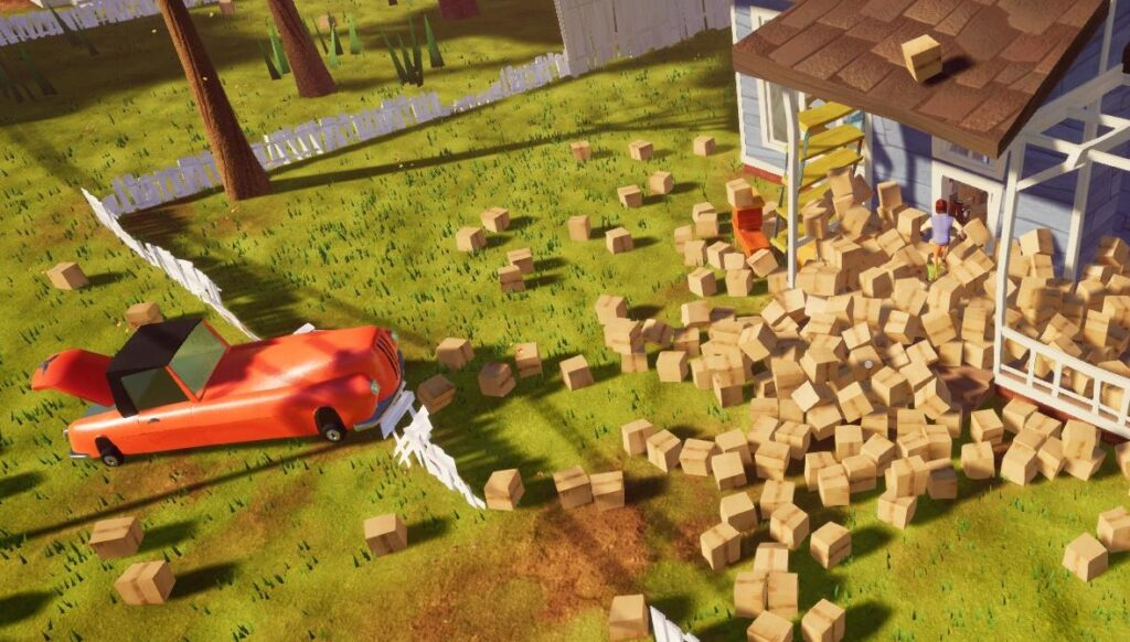 Hello Neighbor Walkthrough