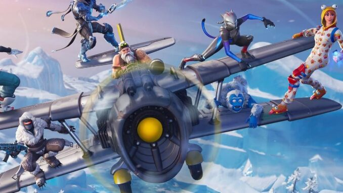 Fortnite Battle Royale - Banner Location Guide / Snowfall Challenges (Season 7)