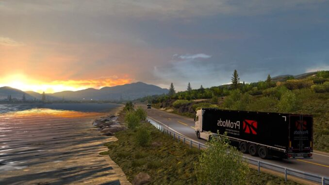 Euro Truck Simulator 2 - Solution for Genoa Bridge Event
